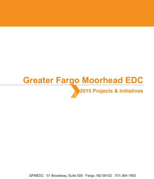 2015 Greater FM EDC Projects and Initiatives