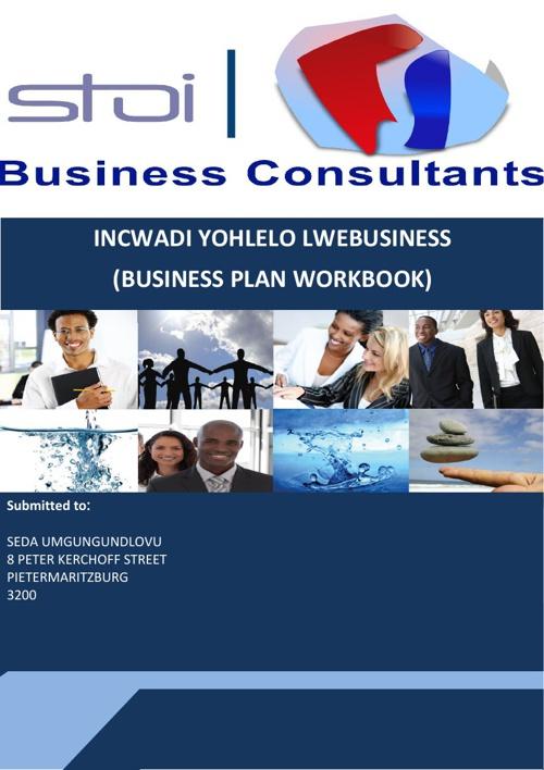 Business Plan Workbook Proposal