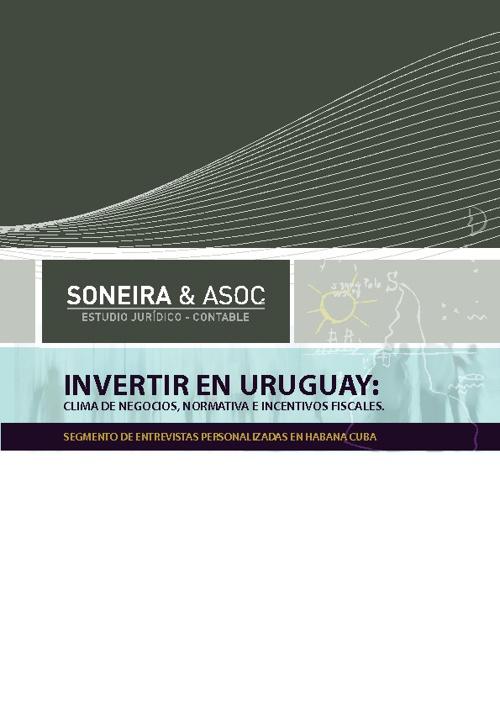 INVERTIR EN URUGUAY