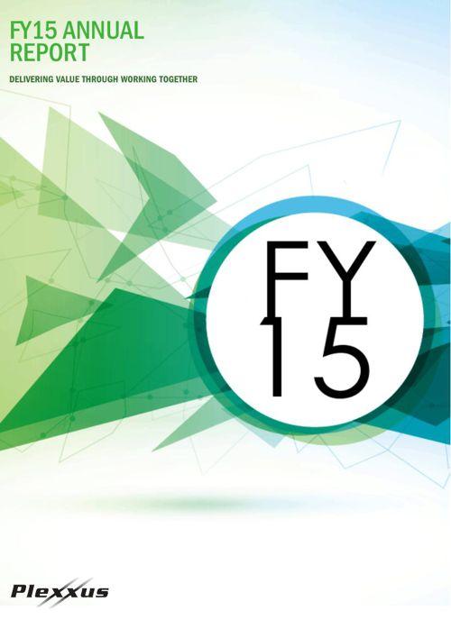 Plexxus Annual Report - FY15
