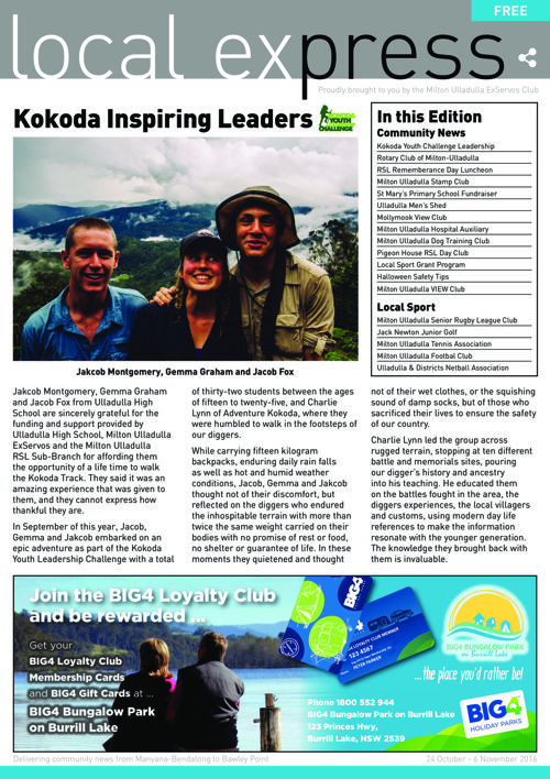 Issue 8 - 24 October 2016 - 6 November 2016