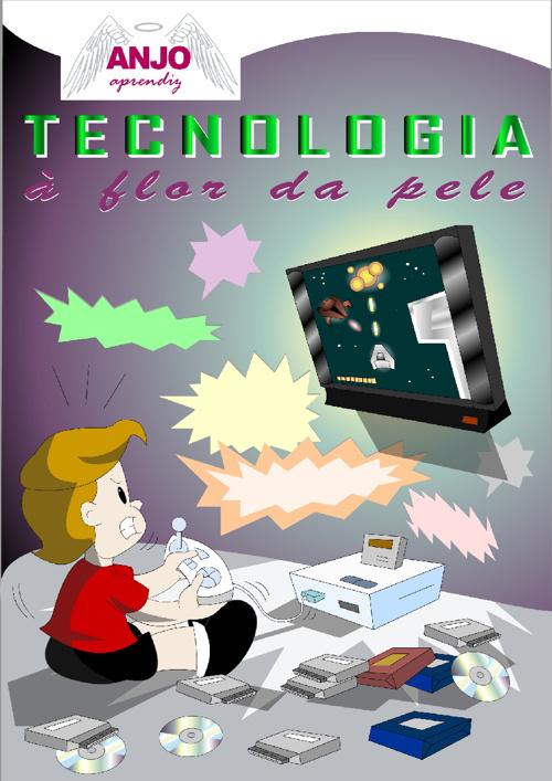 Revista em Quadrinhos - Edição Nº 2 - Tecnologia à flor da pele