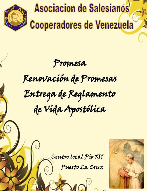 Invitación Salesianos Cooperadores