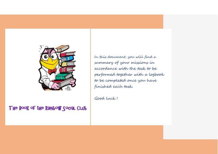 The Book of the Rainbow Social Club