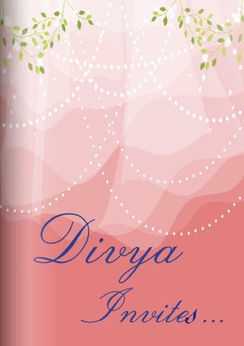 Divya Invites