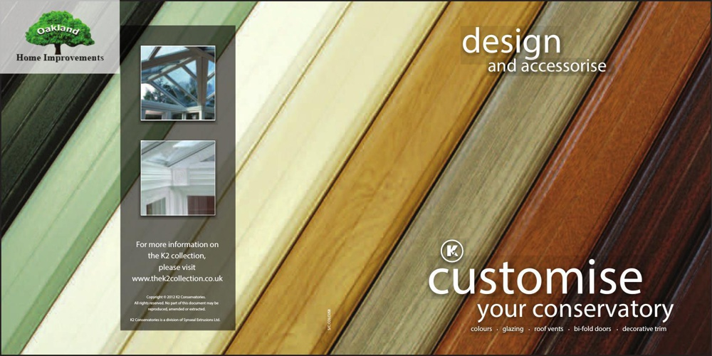 Oakland Home Improvements - Customise Your Conservatory