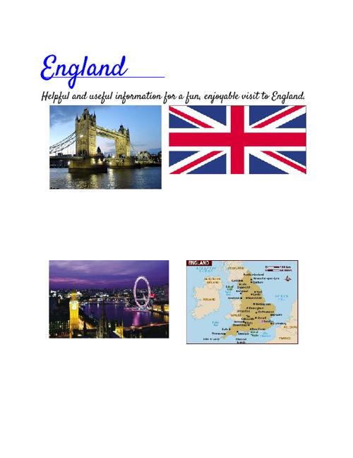 England Brochure