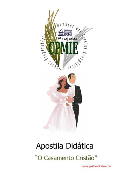 """Apostila Didática """"Discipulado para Nubentes"""""""
