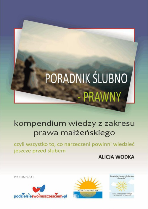 PORADNIK ŚLUBNO - PRAWNY