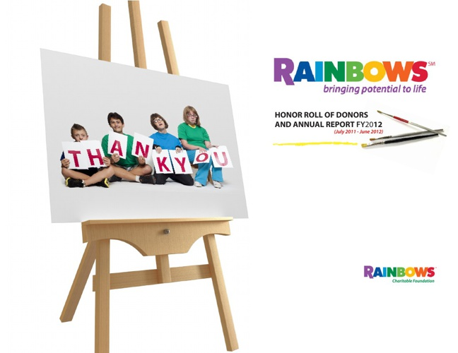 2012 Rainbows: Honor Roll & Annual Report