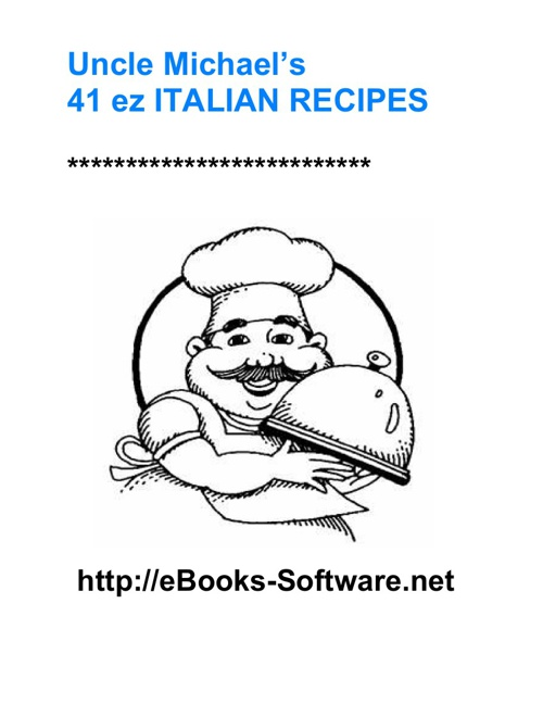 41 ez ITALIAN recipes