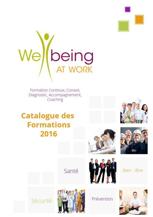 Catalogue Wellbeing At Work EU Parlement