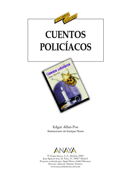 Cuentos Policiacos-Edgar Allan Poe