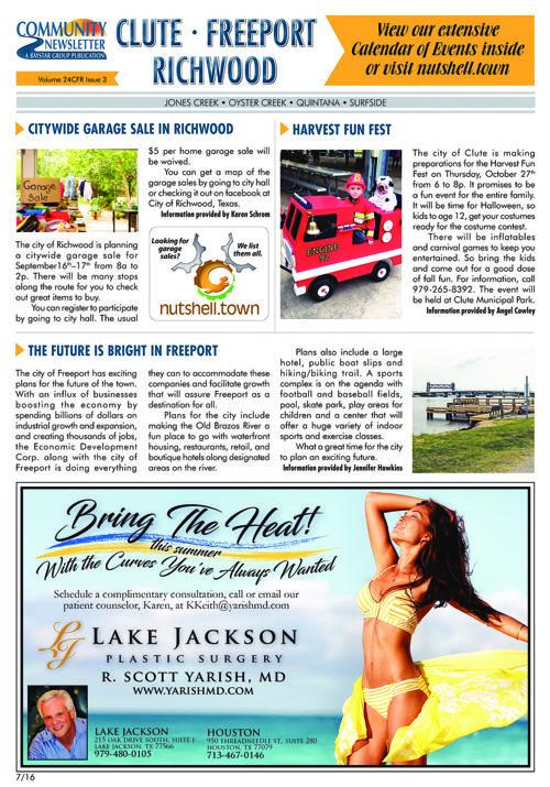 Clute-Freeport Community Newsletter Volume 24 Issue 3