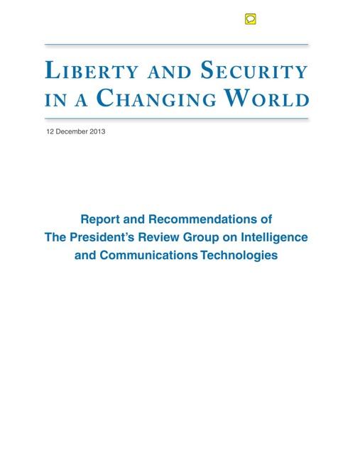 OBAMA-NSA REPORT
