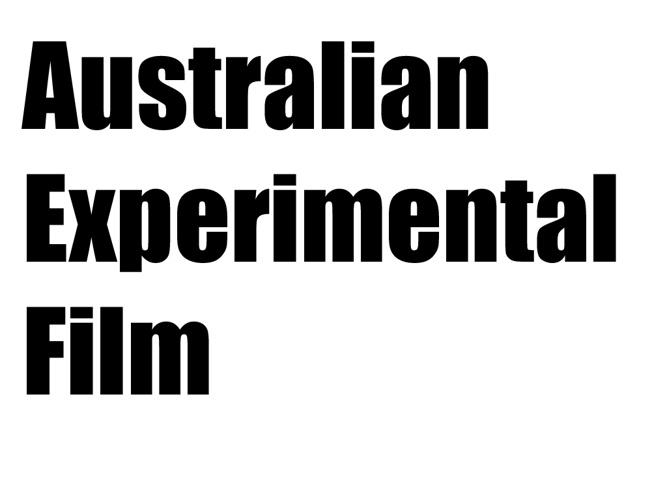 Experimental Australian Film