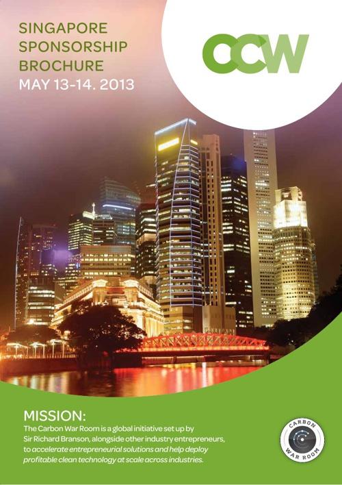 CCW Singapore Sponsorship Brochure