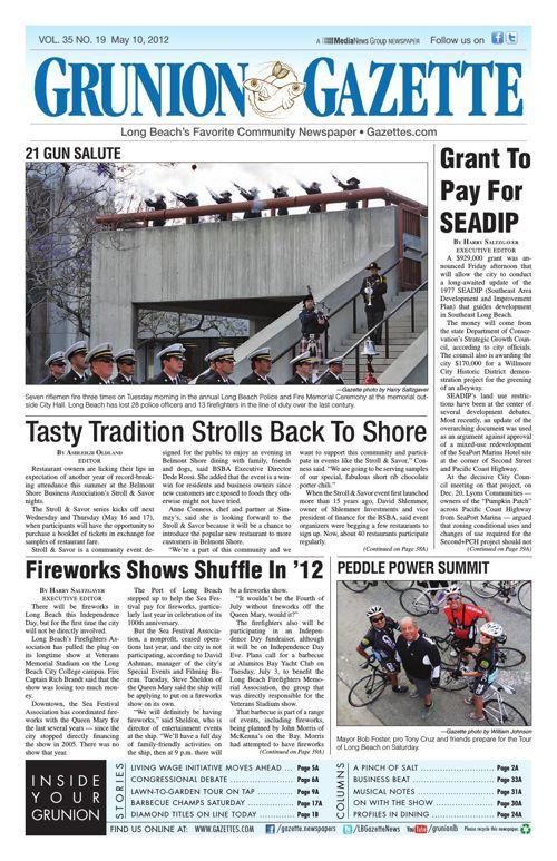 Grunion Gazette | May 10, 2012