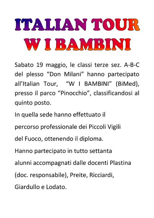W I BAMBINI - BiMed