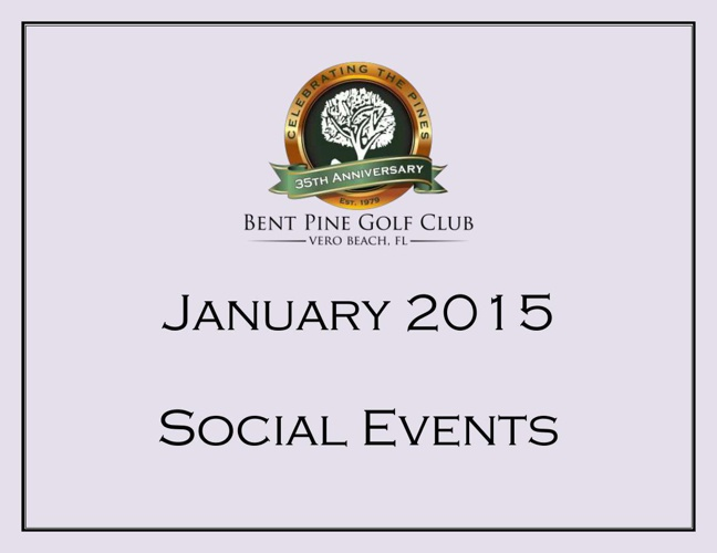 January 2015 Events