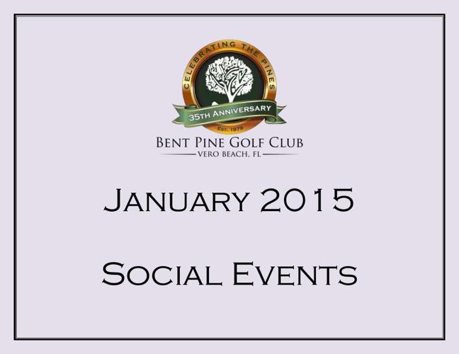 January 2015 Events