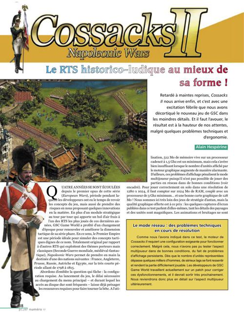 Cossacks 2 Napoleonic Wars - Test