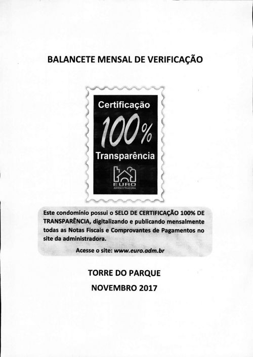 TORRE DO PARQUE - 2017/11