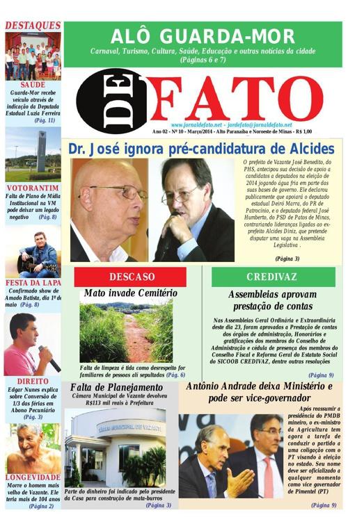Jornal De Fato 10ª Edição
