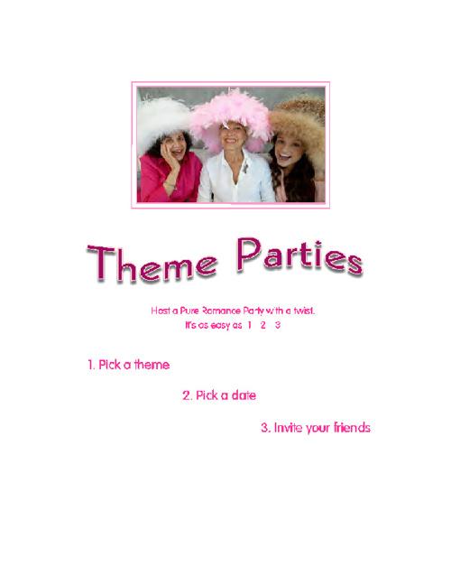 Book a Theme Party