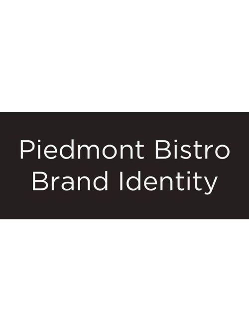 Branding: Piedmont Bistro