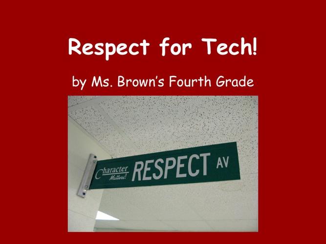 Respect for Tech!