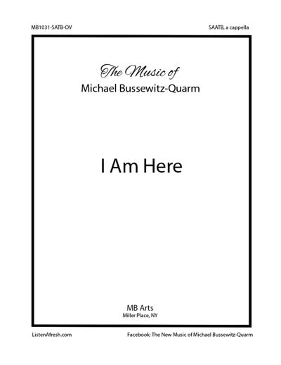 I Am Here Sample Pages