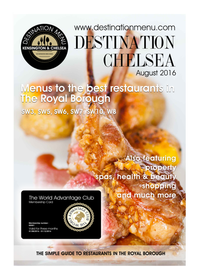 Copy of Preview of The Chelsea Menu Guide Winter 2105/16