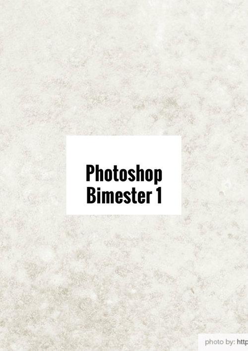 Photoshop Bimester 1
