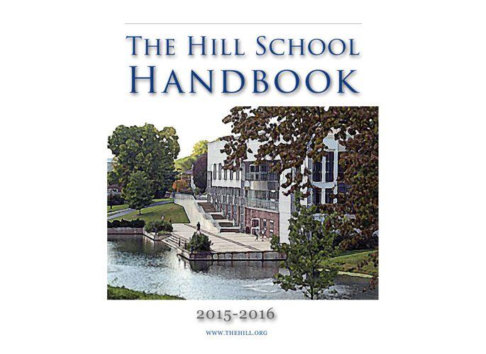 The Hill School Handbook 2015-16