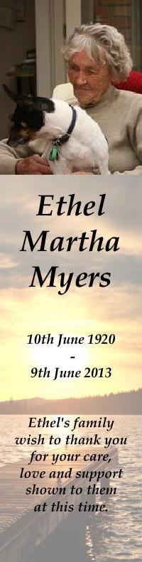 Ethel Myers