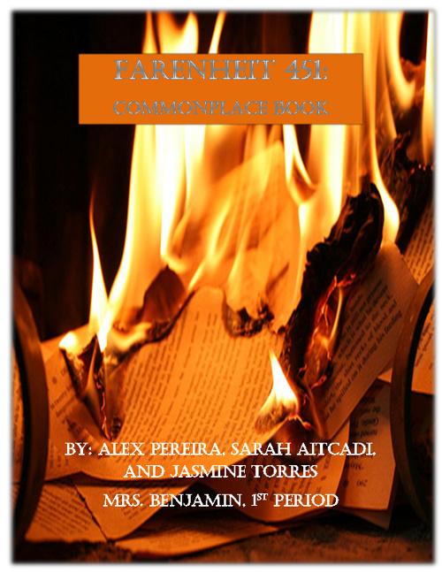Fahrenheit 451 Common Place Book