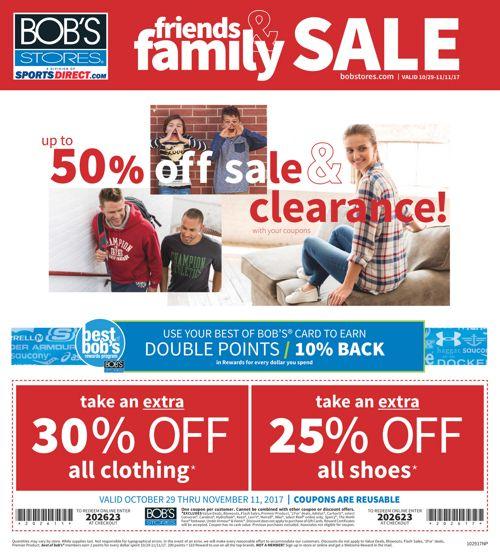 Friends & Family Sale Insert