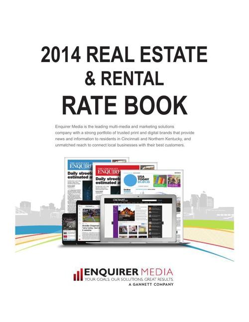 Enquirer Media Real Estate &  Rental Rate Card 2014