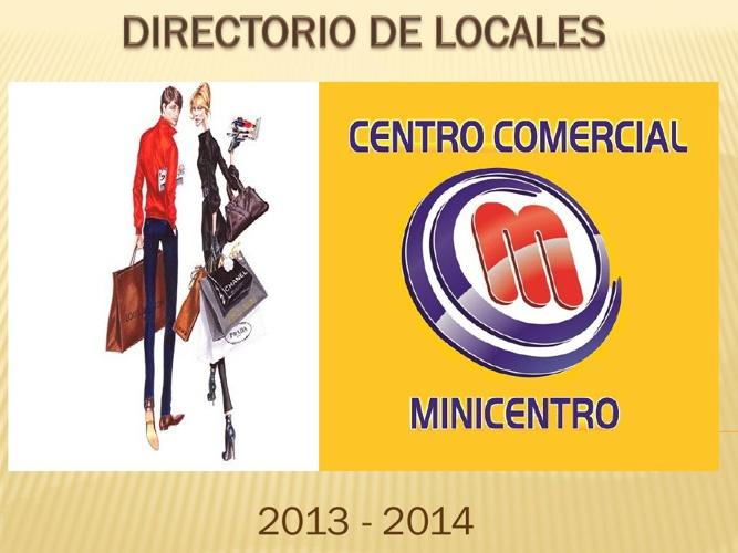 CENTRO COMERCIAL MINICENTRO
