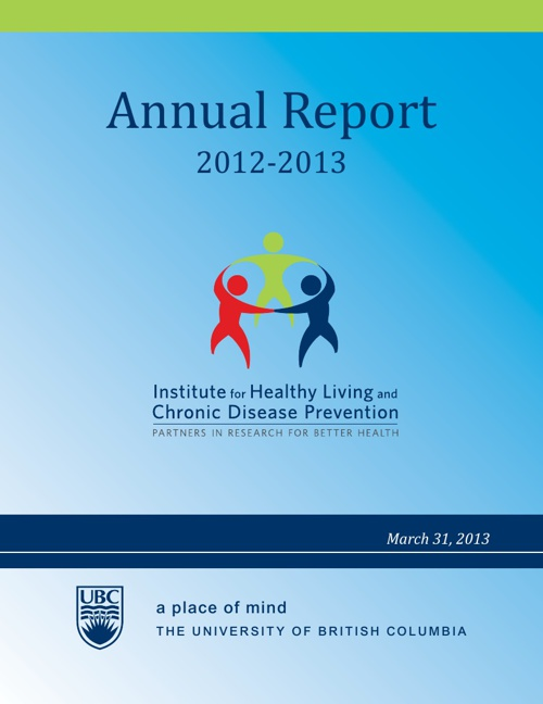 2012 - 2013 IHLCDP Annual Report