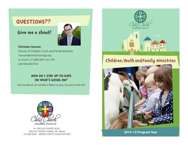 2014-15 Program Year Brochure