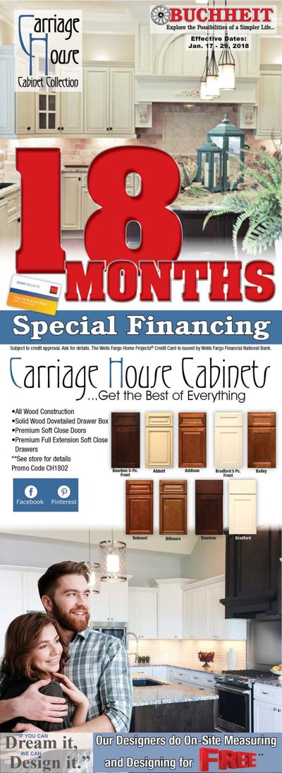1802 Wrap 18 Months Special Financing