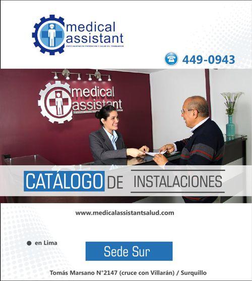 Catálogo Medical Assistant (sede sur)