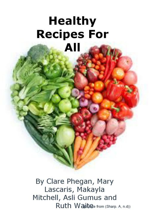 Copy of Healthy Recipes For All