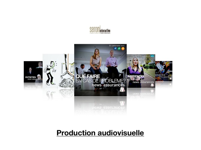 Formats vidéos Seroni Interactive