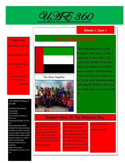 Newsletters of 7B1