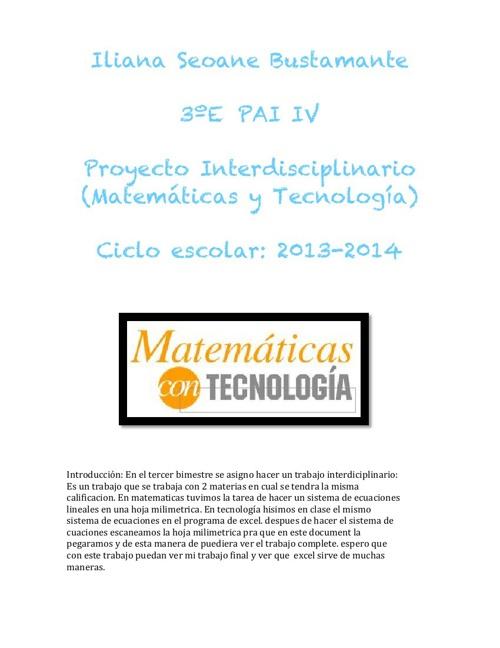 Copy of PROYECTO INTERD. PAI 4 (13-14) modif