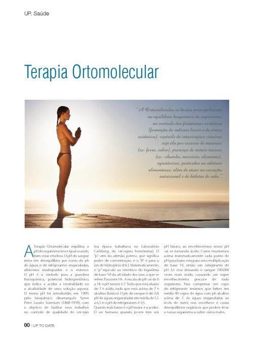 Artigo de Terapia Ortomolecular