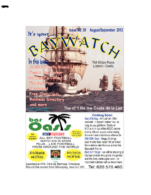Baywatch - Issue 39 August/September 2012